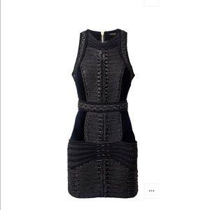 Balmain Black detail dress 0